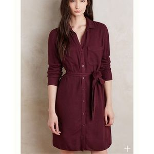 [Anthropologie Cloth & Stone] Hearth Shirtdress